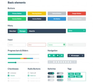 Flat UI Toolkit