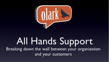 Olark: All Hands Support