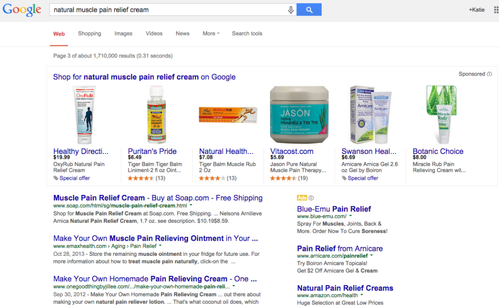 Google Shopping SERP Test Spotted