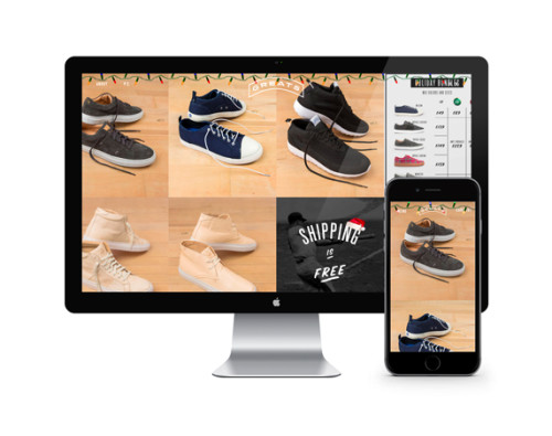 Greats shopify ecommerce site design